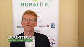 RuraliTIC 2019 :  interview de Laurent Cervoni, Directeur général de Localeo @RURALITIC2019 @localeo