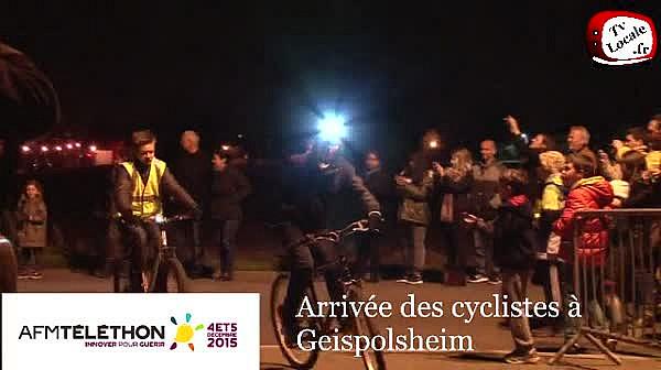 #Téléthon à Geispolsheim : le tour du massif vosgien en vélo ou à pied