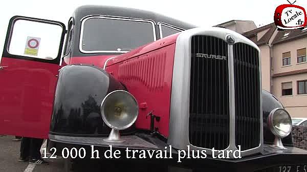 La rencontre européenne d'autocars de collection a eu lieu pour la première fois en France à Haguenau