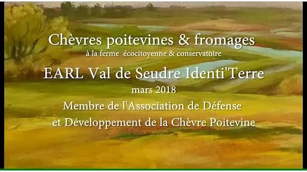 Chèvres Poitevines à la ferme bio Val de Seudre Identi'Terre de Benoît Bite