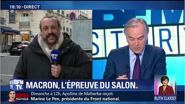 Benoeticirc;t Biteau sur BFM TV