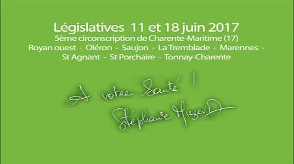 Candidats libres à Royan ! Benoît Biteau.