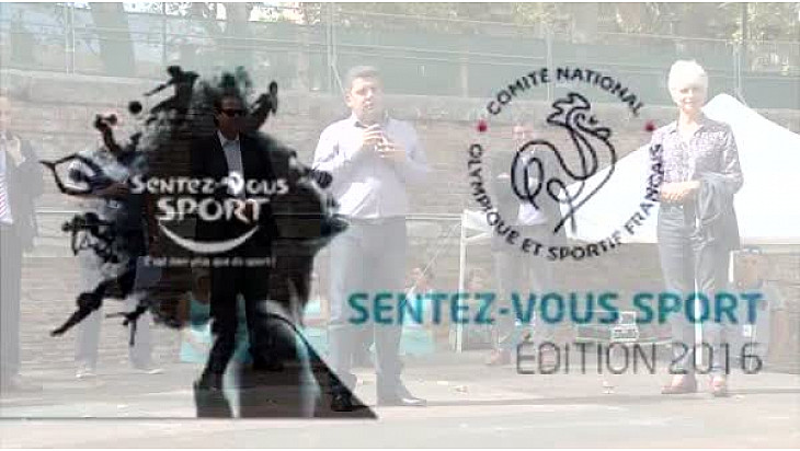 @SentezVousSport 2016 #Toulouse : Christophe ALVES et Jacqueline WINNEPENNINCKX-KIESER au micro de Michel Lecomte de l'association #TvLocale-fr