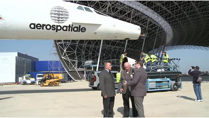 CONCORDE : c'était le 14 mars 2014 , son dernier Vol et son entrée dans le Musée Aeroscopia de Blagnac