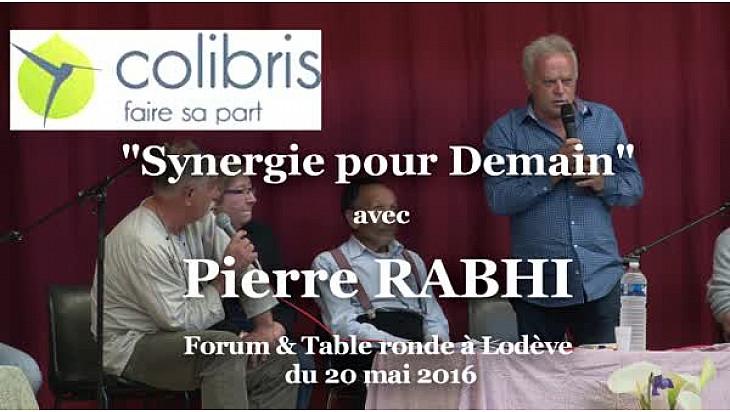 Pierre RABHI avec les Colibris Coeur d'Hérault  à 'RENCONTRE SYNERGIE POUR DEMAIN'  #Lodève @mvtcolibris #PierreRabhi #TvLocale_fr
