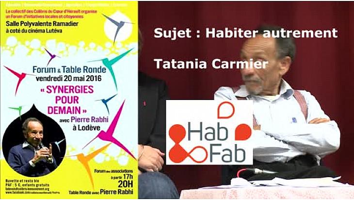 Pierre RABHI avec les Colibris Coeur d'Hérault à 'RENCONTRE SYNERGIE POUR DEMAIN' :#habitat  #Lodève @mvtcolibris #PierreRabhi #TvLocale_fr