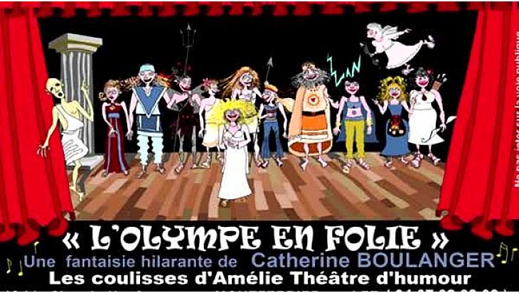Théâtre - Catherine Boulanger présente sa pièce L'Olympe en Folie au micro de Michel Lecomte #TvLocale_fr #Theatre