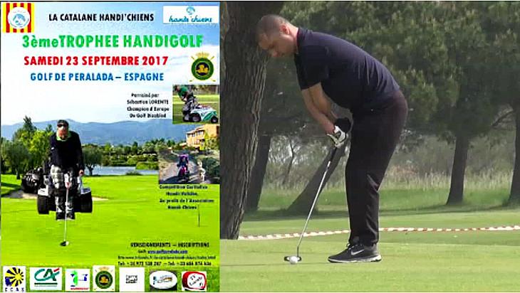3ème Trophée Golf Handi Golf au profit de l'association Handi'Chiens @handichienscom @jeane_manson @Tvlocal_fr