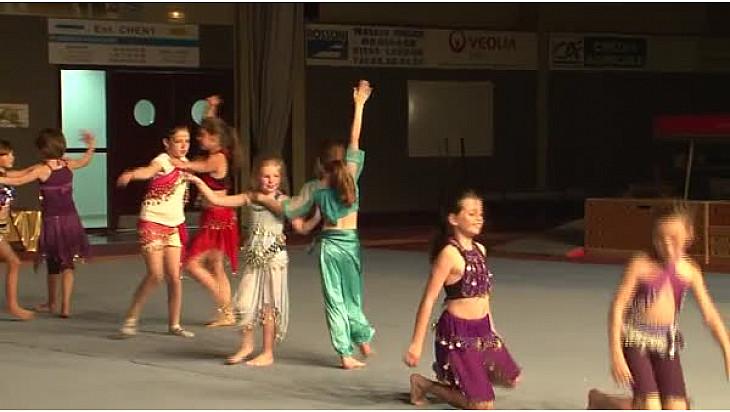 Gymnastique Gala 2016 'La Tarnaise' de Lavaur (81): 'Jasmines de PERSE'  #TvLocale_fr
