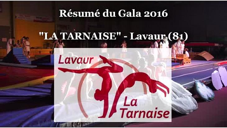 Gymnastique Gala 'La Tarnaise' de Lavaur (81): résumé de la soirée du 17 juin 2016 #TvLocale_fr