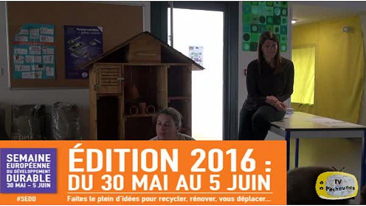 Semaine du développement durable : Hotel à insectes par les jeunes reporters de Lacourt Saint Pierre  @ecologiEnergie @EducationFrance @actoulouse