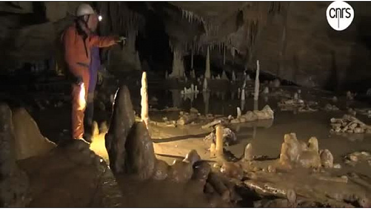 inauguration de la salle d'exposition sur la Grotte de Bruniquel en Tran-et-Garonne.