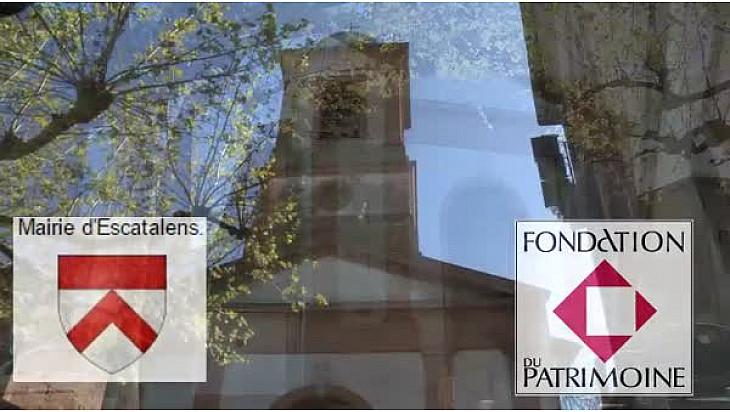 Signature d'une Convention entre la commune d'Escatalens (82) et la Fondation du Patrimoine pour la restauration de l'Eglise Sainte Marie-Madeleine. @fond_patrimoine @Occitanie