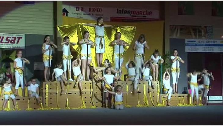 Gymnastique Gala 2016 'La Tarnaise' de Lavaur (81): 'L'Egypte 3' Cléopâtre #TvLocale_fr