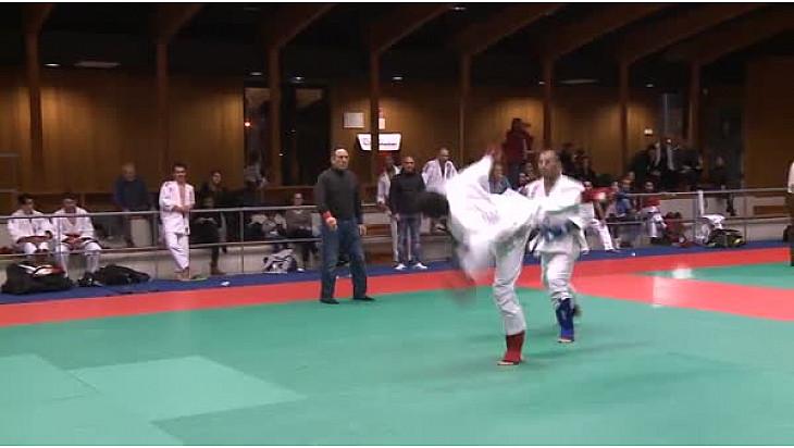 Ju Jitsu Fighting #Occitanie: Belgacem Barhoumi du Toulouse Judo vainqueur à l'Open Régionale à Montauban #JuJitsu