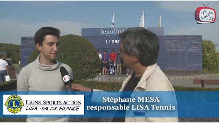 LISA lance le Trophée Tennis : Stéphane MESA jeune Lions lance le Trophée LISA Tennis #TvLocale_fr