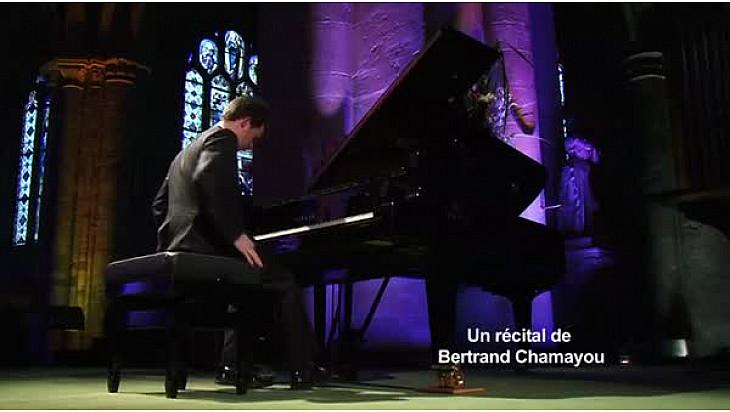 Concert Piano: Bertrand CHAMAYOU interprête le Prélude de César Franck, au Festival d'Auvers-sur-Oise