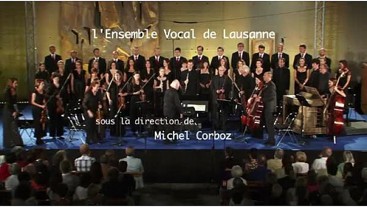 Lyrique : L'Ensemble Vocale de Lausanne sous la direction de Michel Corboz au Annecy Classic Festival
