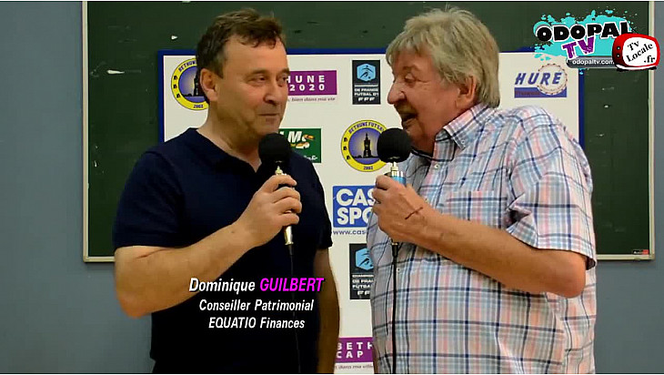 ITW Dominique GUILBERT d'EQUATIO FINANCES - 3ème Journée Futsal Division 1 - Béthune - 30/09/2017