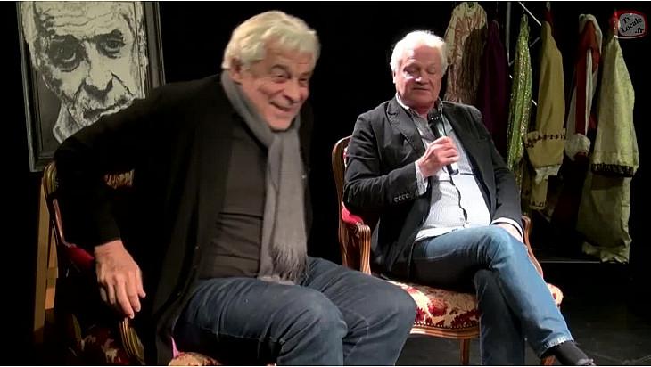 Emission Théâtre 'Les Rencontres Acteurs Artisans' Acte 1 avec Jacques Weber  l'invité de Franck CABOT DAVID de l'école Acteurs Artisans @TvLocale_fr