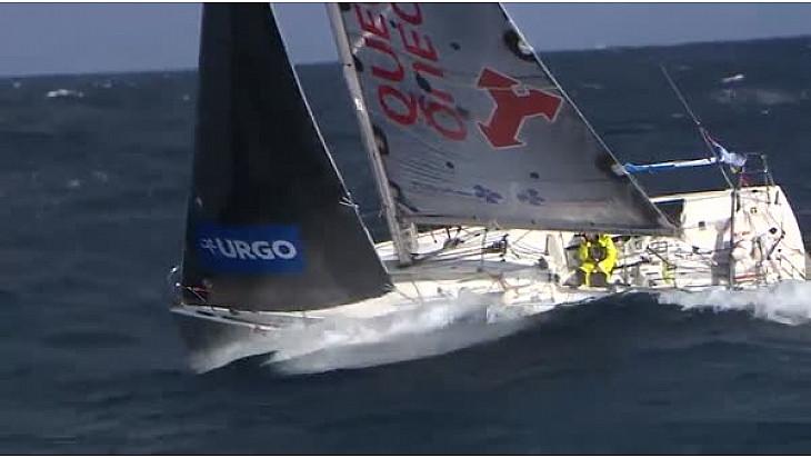 La Solitaire URGO Le Figaro : les premiers bateaux devraient arriver à GIJON vers 22h00 @LaSolitaire2017