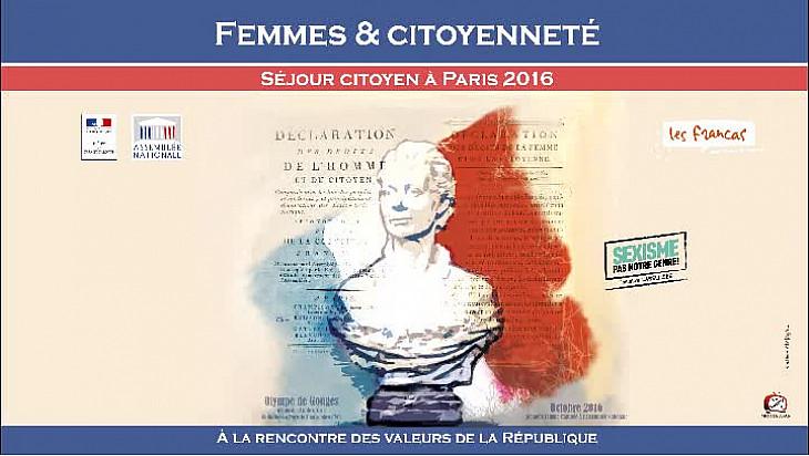 Femmes et Citoyenneté : un séjour citoyen à Paris pour favoriser l'accès aux valeurs de la République.