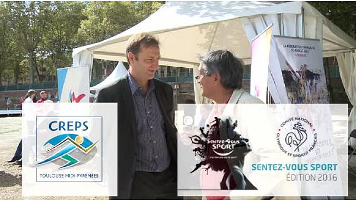 @SentezVousSport Eric JOURNAUX Directeur du #CREPS #Toulouse était aux journées  le 17 septembre 2016 et a répondu au micro de Michel Lecomte de #TvLocale_fr