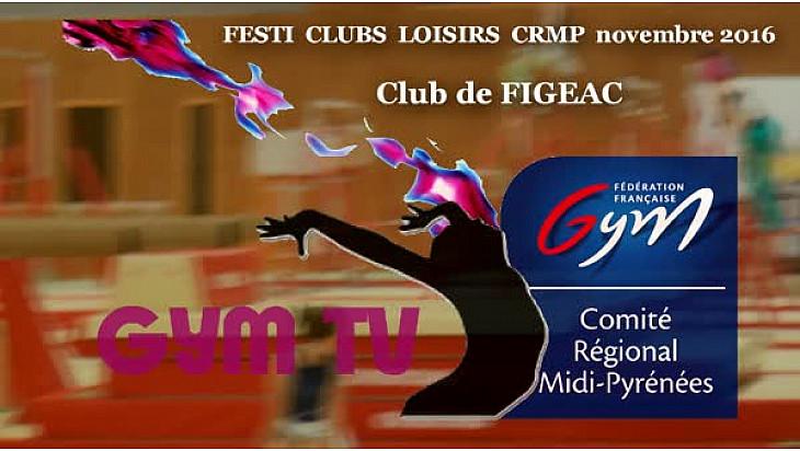 Gymnastique: prestation du club de FIGEAC au Festi Clubs Loisirs du 19 novembre à la MAG de #Colomiers