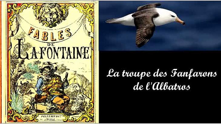 Les Fables de La Fontaine revisitées par les Fanfarons de l'Albatros ( extraits)