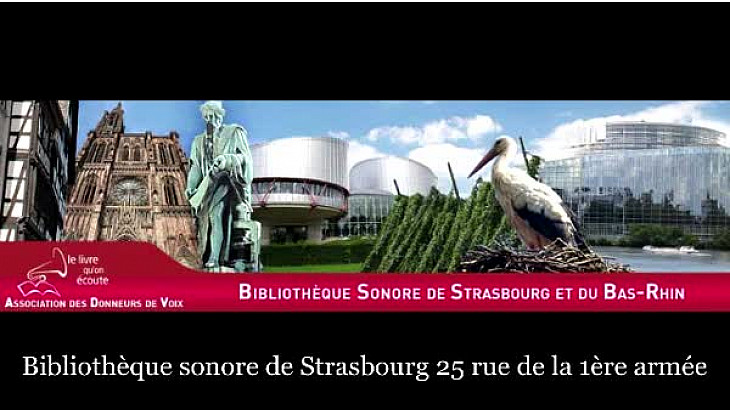 #Bibliothèque Sonore de Strasbourg vient en aide aux élèves malvoyants#Tv Locale_fr