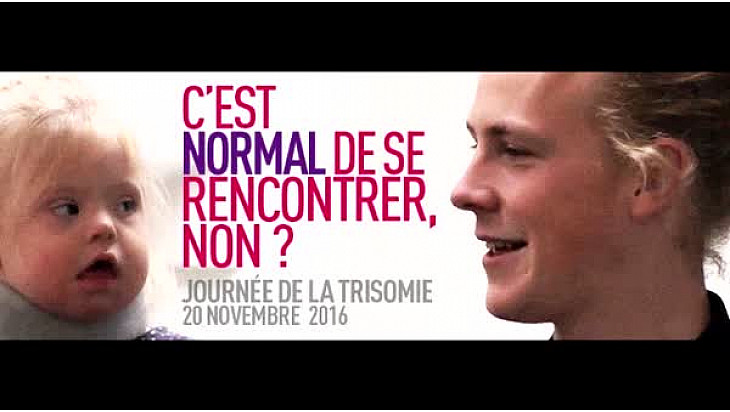 Trisomie 21 Alsace participe à la Journée nationale de la #trisomie21