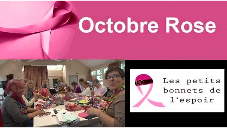 #Les Petits Bonnets de l'Espoir ont confectionné 1 061 bonnets en 8 jours pour Octobre Rose