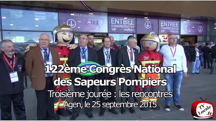 Discours de Bernard CAZENEUVE au Congrès National des Sapeurs Pompiers : les rencontres de la troisième journée.