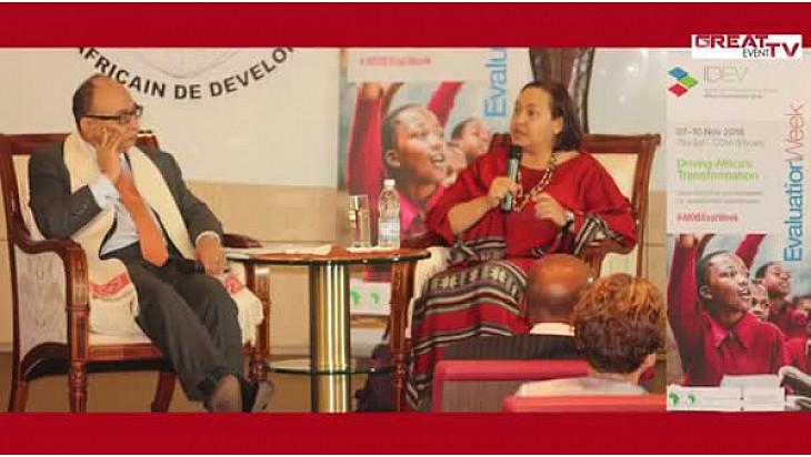 SEMAINE DE L'EVALUATION DE LA BAD: « Accélérer la transformation de l'Afrique »