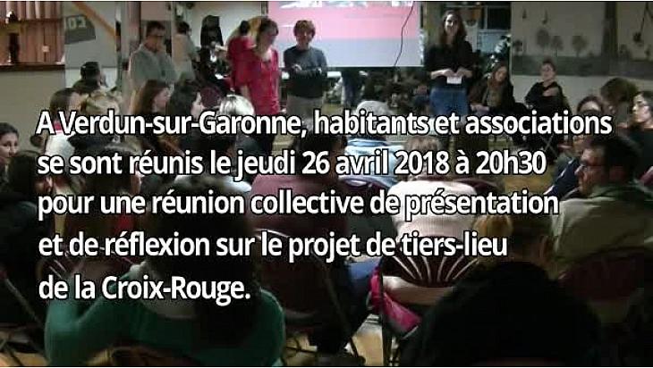 #Tiers-Lieu #Croix-Rouge à @Verdun-sur-Garonne: bilan de la 1ère réunion collective du 26 avril 2018
