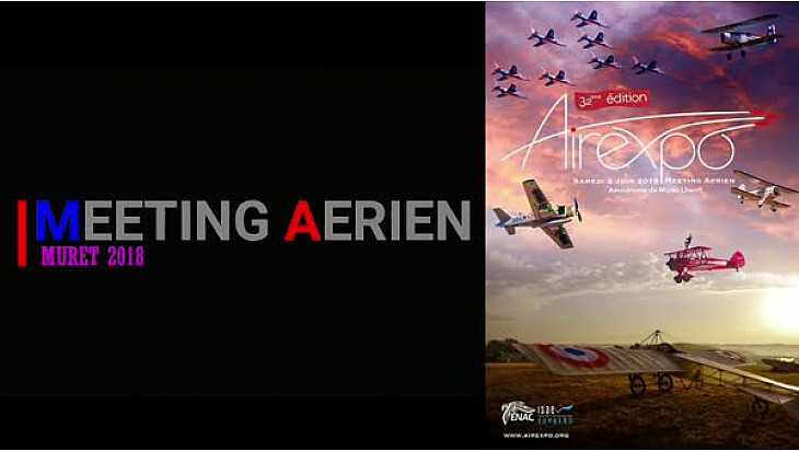 Airexpo 2018 : Muret le Lherm le meeting #muret #airexpo #airshow  #tvlocale