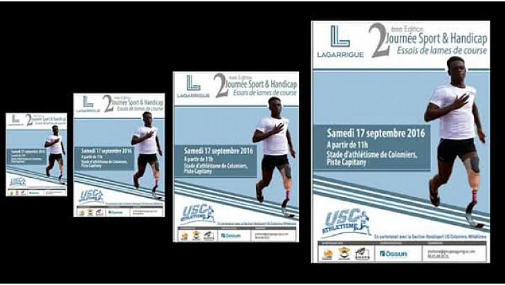 Colomiers, journée sport et handicap #handisport @AthleHandi #colomiers #paralympique #TvLocale.fr