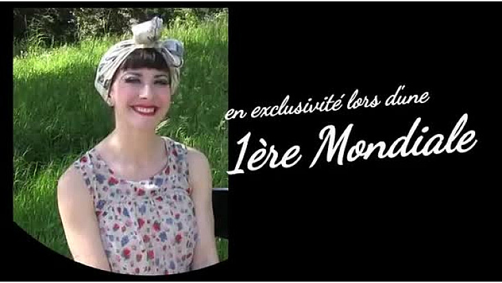 Louise De Ville, femme fatale #eroticart #burlesqueshow #ShowInédit #spectacle #TvLocale-fr