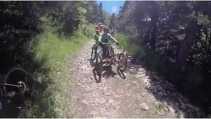 Val Drôme Ftt 2016 les pistes aménagées aux #Handisports amateurs.