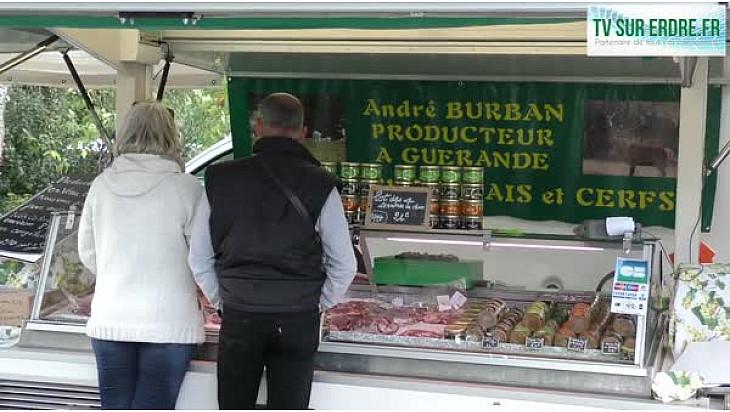 Marché fermier J. de la Bouvrie à Casson