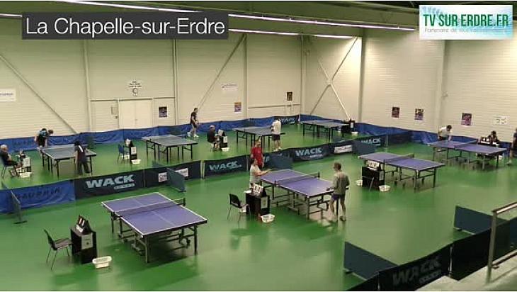 La Chapelle sur Erdre : Tournoi National de Tennis de Table