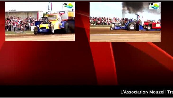 Mouzeil 2016 : Championnat de France de Tracteur Pulling le 07/08