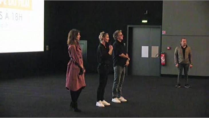Tout le monde debout : Franck Dubosc Alexandra Lamy et Elsa Zylberstein présente le film ! @ClubParis19UGC @dubosc_franck @Alexandra_Lamy