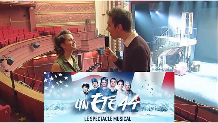 Un été 44 : Interview de Sarah-Lane ! Spectacle en prolongation au Comédia de Paris et en tournée ! @un_ete_44 #tvlocale @Guill_muller