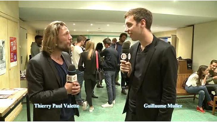 Avant-première cinéma de 'L'artiste', interview de Guillaume Muller #tvlocale