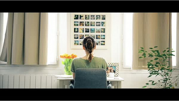 Ce moment-là  - un court métrage de Nadia Van de Ven. Une bouffée d'oxygène !