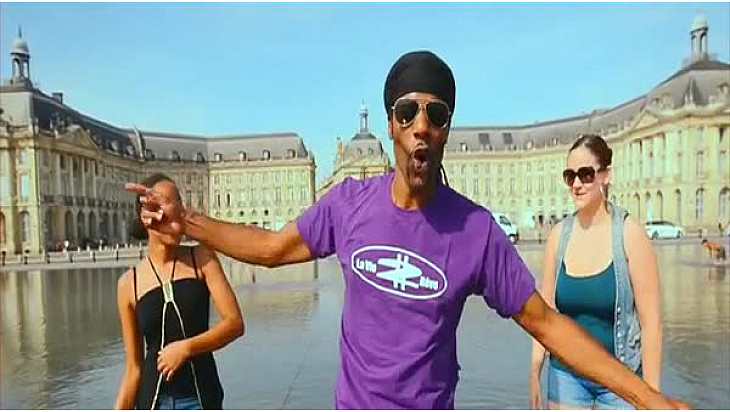 « La joie de vivre à Bordeaux »  nouveau clip de l'artiste X DADDY