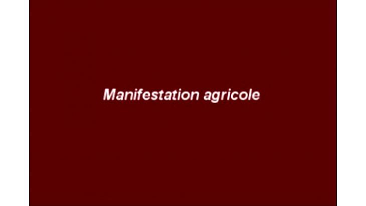 Montauban - Important :  Manifestation des agriculteurs : Les conseils de Monsieur Pierre Besnard, @Prefet_82
