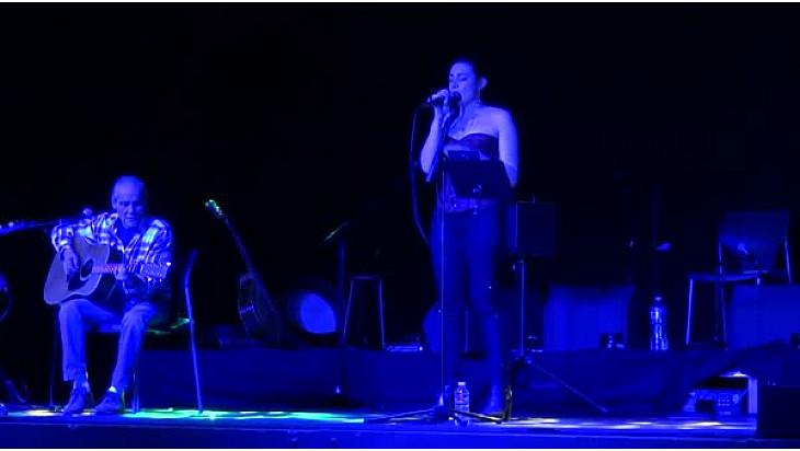 Le Pantin de Bois - Manon Espinosa ft. Yves géleff - Live