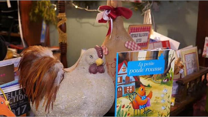 Quand les poules auront des livres #Noël #Condom # Gers #Occitanie #Cadeaux